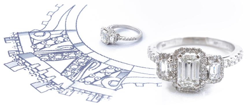 Custom Jewelry Design Process Minneapolis Johantgen Jewelers
