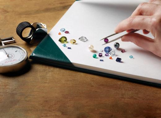 Gem Buying Example: Various Gemstones Being Appraised